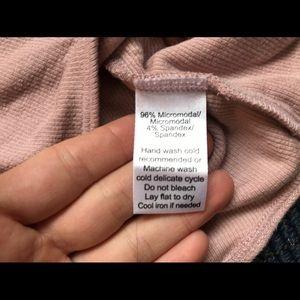 ATM Anthony Thomas Melillo Tops - 🆕ATM Anthony Thomas Melillo blush pink bodysuit